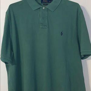 Green XL Ralph Lauren Polo T-Shirt